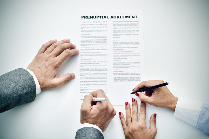 Attorney Helping with Prenuptial Agreement